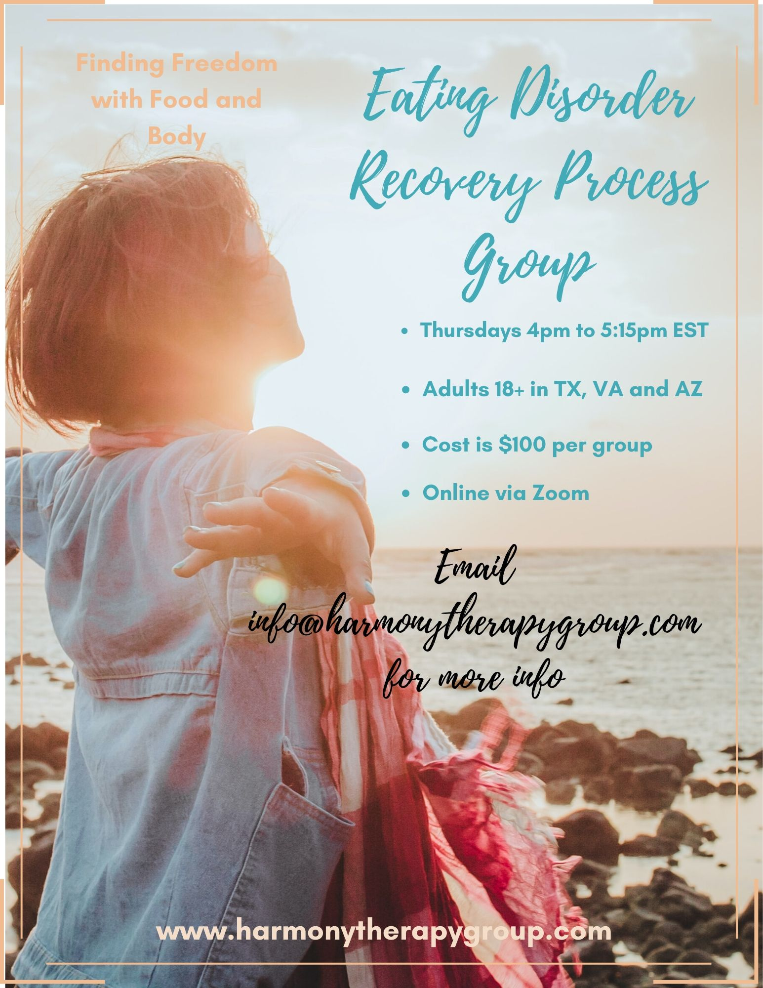 Eating Disorder Recovery Process Group